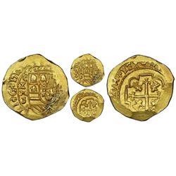 Mexico City, Mexico, cob 4 escudos, 1713J, NGC MS 63, ex-1715 Fleet (designated on special label), e