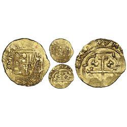Mexico City, Mexico, cob 2 escudos, 1713J, NGC MS 63, ex-1715 Fleet (designated on special label), e