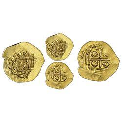 Mexico City, Mexico, cob 1 escudo, 1707J, mintmark oM, very rare, NGC AU 58, finest and only example