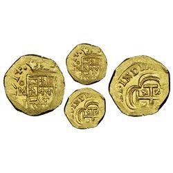 Mexico City, Mexico, cob 1 escudo, 1714J, NGC MS 65, ex-1715 Fleet (designated on special label), ex