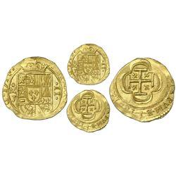 Mexico City, Mexico, 2 escudos, 1714J, NGC UNC details / edge filing, ex-1715 Fleet (designated on l