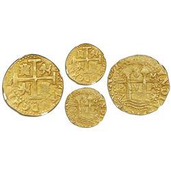 Lima, Peru, cob 8 escudos, 1715M, rare, NGC XF 45, ex-Loosdrecht (1719).