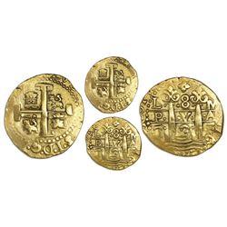 Lima, Peru, cob 8 escudos, 1725M, Louis I.