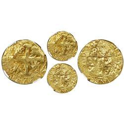 Lima, Peru, cob 8 escudos, 1747V, NGC MS 62.