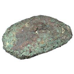 Large copper ingot #260, 41.50 lb, ex-Atocha (1622).