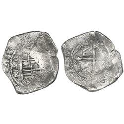Mexico City, Mexico, cob 8 reales, 1639P.