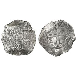 Mexico City, Mexico, cob 8 reales, 164(?)P.