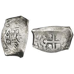 Mexico City, Mexico, cob 8 reales, (172)7D, rare.
