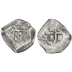Mexico City, Mexico, cob 8 reales, (172)9(R).