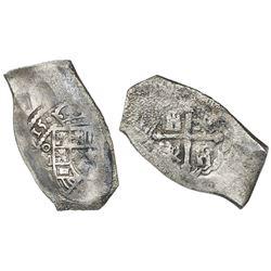 Mexico City, Mexico, cob 8 reales, 1715J, ex-1715 Fleet, ex-Lozano.