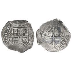Mexico City, Mexico, cob 8 reales, 1652/1P, Cayon Plate Coin, NGC VF 30.