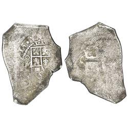 Mexico City, Mexico, cob 8 reales, (1)715J.