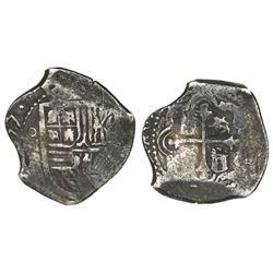 Mexico City, Mexico, cob 4 reales, (1)657P.