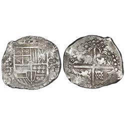 Potosi, Bolivia, cob 8 reales, (162)8P/T.