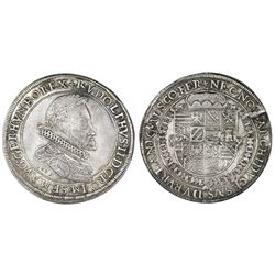 Austria (Holy Roman Empire), taler, Rudolf II, 1603, Ensisheim mint (Alsace region, now France).
