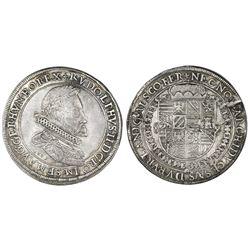 Austria (Holy Roman Empire), taler, Rudolf II, 1603, Ensisheim mint (Alsace region, now France).