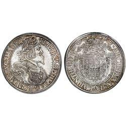 Austria (Holy Roman Empire), taler, Ferdinand III, 1649, St. Veit mint, NGC MS 62.