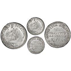 Oruro, Bolivia, 1 sol, 1849, Belzu, PCGS AU details / cleaning.