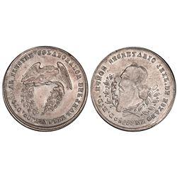 Potosi, Bolivia, 1/5 boliviano, 1865, Munoz, PCGS AU53.