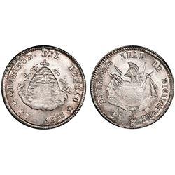 Potosi, Bolivia, 1/10 boliviano, 1865, PCGS MS64.