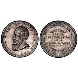 Potosi, Bolivia, 1/3 melgarejo, 1869, PCGS AU58.