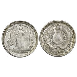 Honduras, 25 centavos, 1907/4