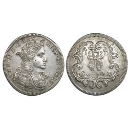 Naples & Sicily (Italian States), 1/2 ducato (50 grani), Charles II of Spain, 1693IM-AGA.