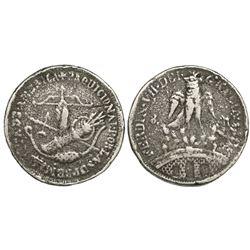 Tlalpujahua, Mexico (Supreme National Congress), cast 8 reales, Ferdinand VII, 1811, rare, ex-Murias