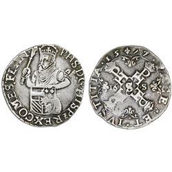 Flanders (Bruges mint), Spanish Netherlands, 1/2 statendaalder (16 stuivers), Philip II, 1577.