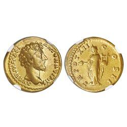 Roman Empire, AV aureus, Marcus Aurelius, 161-180 AD, struck under Antoninus Pius, 158-159 AD, Rome