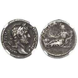 "Roman Empire, AR denarius, Hadrian, 117-138 AD, ""travel series"" issue, Rome mint, struck ca. 134-138"