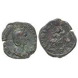 Roman Empire, AE sestertius, Otacilia Severa (Augusta, 244-249).