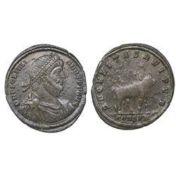 Roman Empire, AE maiorina, Julian II, 361-363 AD, Constantinopolis.