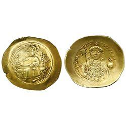 Byzantine Empire, AV histamenon nomisma, Michael VII, 1071-78 AD, Constantinople mint.