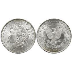 USA (Philadelphia mint), Morgan dollar, 1883, PCGS MS66.