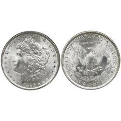 USA (Philadelphia mint), Morgan dollar, 1886, PCGS MS66.
