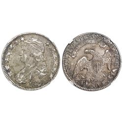 USA (Philadelphia mint), 50 cents, 1824, NGC AU 53.