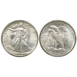 USA (Philadelphia mint), half dollar Walking Liberty, 1939, PCGS MS67.