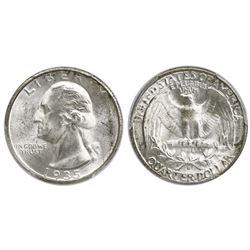 USA (Denver mint), quarter dollar Washington, 1935-D, PCGS MS64.