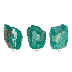 Very large natural emerald, 24.34 carats, ex-Atocha (1622).