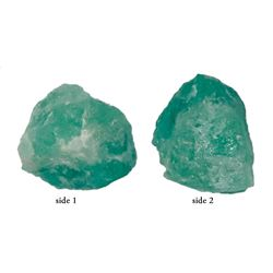 Large natural emerald, 6.76 carats, grade 2A, ex-Atocha (1622).
