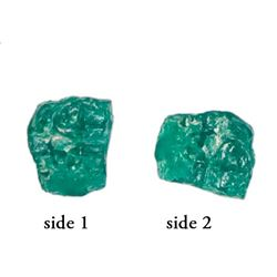 High-quality natural emerald, 1.34 carats, ex-Atocha (1622).