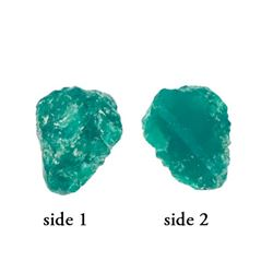 High-quality natural emerald, 1.86 carats, ex-Atocha (1622).