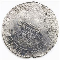 Brabant, Spanish Netherlands (Brussels mint), portrait ducatoon, Philip IV, date not visible (16XX).