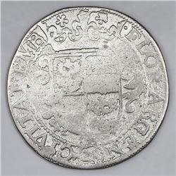 Emden, German States (Holy Roman Empire), 28 stuber (2/3 thaler), Ferdinand II (1619-1637).
