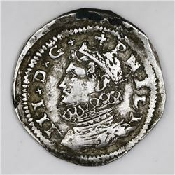 Messina, Sicily (Italian States), 3 tari, Philip III, 1609.