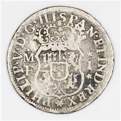 Mexico City, Mexico, pillar 1 real, Philip V, 1735MF, ex-Christensen.