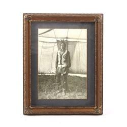 N.A. Forsyth Crow Apsaalooke Warrior Photo c. 1906