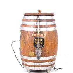 Rochester Root Beer Barrel Soda Dispenser c 1950's