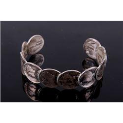 Lady Liberty Roosevelt Dime Silver Coin Bracelet